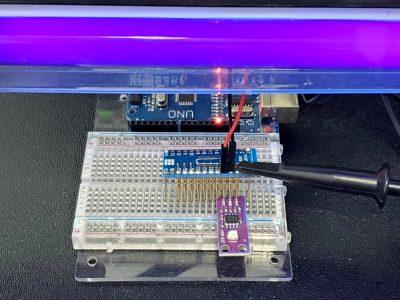GUVA-S12SD UV Sensor Module - Testing