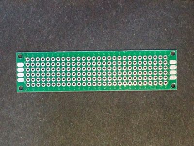 PCB 2x8 cm Universal PCB Board - Top