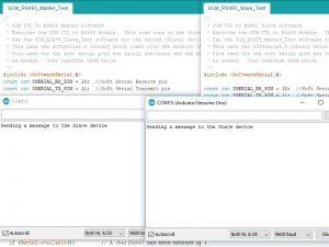 SCM RS485 Master Slave Test