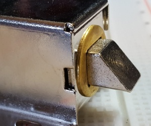 Solenoid Electric Door Lock 12V 900ma - Latch Extended