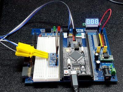 MPU-9250 Accel Gyro and Mag Module - In Test