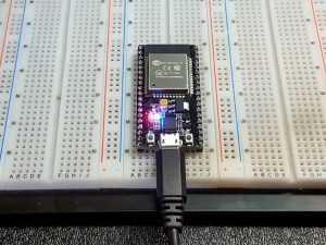 ESP32-S Development Board - In Operation
