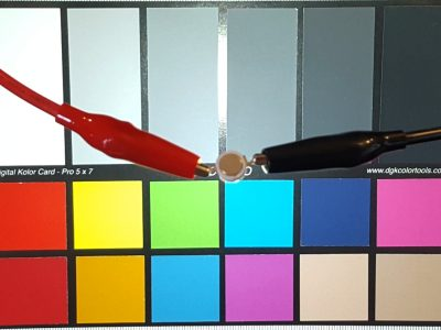 LED 3W 6500 Color Chart