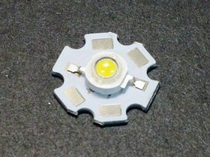 LED 3W with Aluminum Base