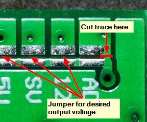 MP2315 Mini Adjustable DC-DC Step-Down Module - Trace to Cut
