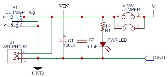 PSB-1 DC Input Schematic