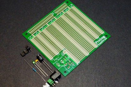 PSB-1 MCU Proto Board with DC Input and Component Kit