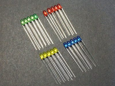 LED Combo 3mm General Purpose - 20 Pack