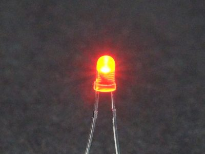 LED Red 3mm General Purpose - Operating