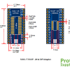 PSB-3 SOIC TSSOP 28-Pin Adapter Dimensions