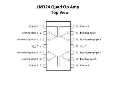 LM324 Block Diagram