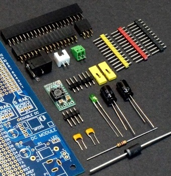 Mega 2560 Pro MCU Board Component Kit