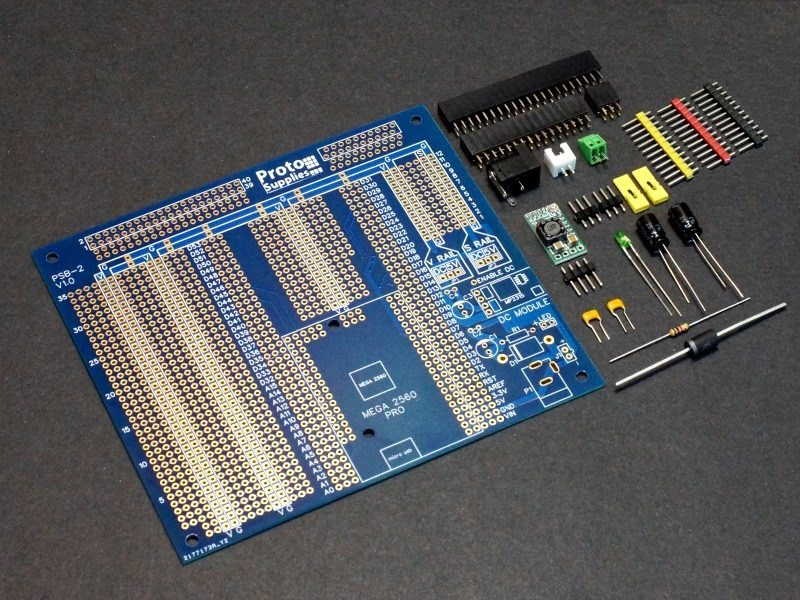 Mega 2560 Pro MCU Board with Component Kit