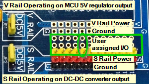 Mega 2560 Pro MCU - Rail Power Selection