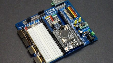 Mega Breadboard with Mega 2560 Pro