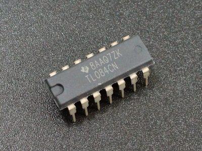TL084CN Quad Op Amp