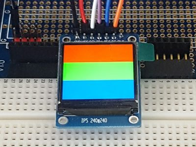 IPS LCD 1.3 240x240 RGB Display ST7789 - RGB