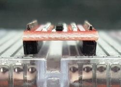 Logic Level Converter 8-Ch Bi-Directional - Angled Headers