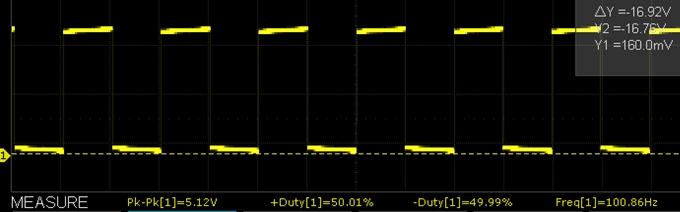 XY-LPWM 100Hz Scope Capture