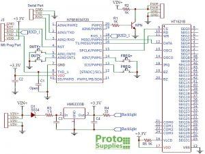 XY-LPWM PWM Signal Generator Schematic