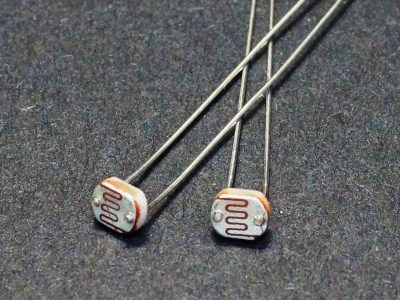 LDR - Light Sensitive Resistor 5mm 2-Pack