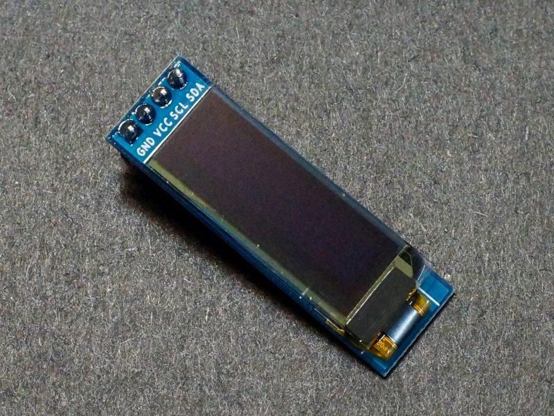 OLED 0,91 White I2C