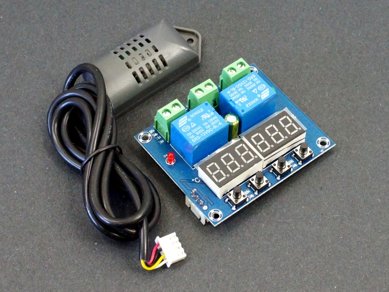 XH-M452 Dual Digital Temperature Humidity Controller