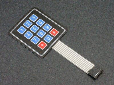 Membrane Keypad 4 x 3