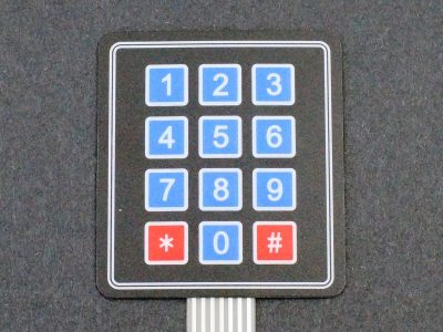 Membrane Keypad 4 x 3 - Keypad
