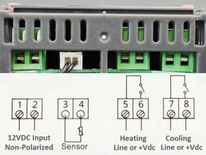 STC-1000 12VDC - Connections