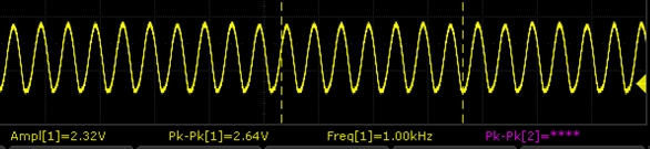 Sound Sensor Module - 1KHz Waveform