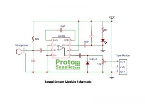 Sound Sensor Schematic