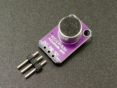 MAX4466 Microphone Preamplifier Module