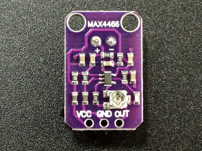 MAX4466 Microphone Preamplifier Module - Back