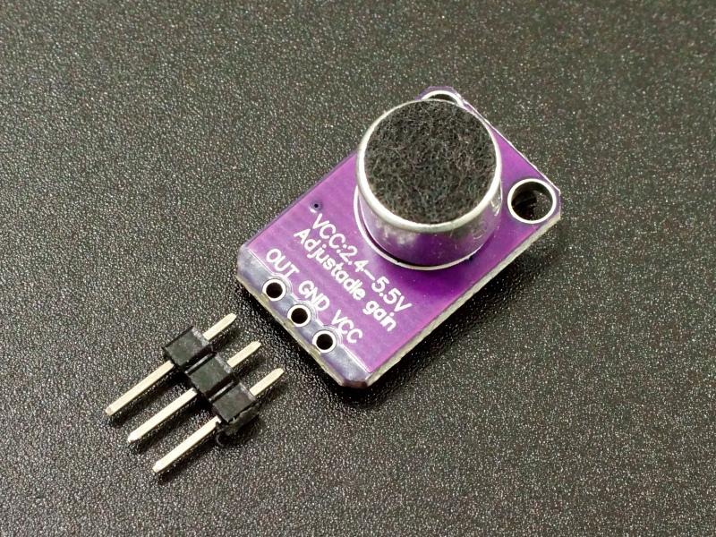 MAX4466 Microphone Preamplifier Module