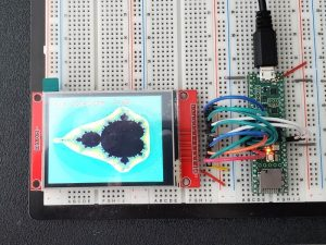"TFT LCD 2.8"" 240x320 RGB ILI9341 with Touchscreen - Connected to Teensy 4.1"
