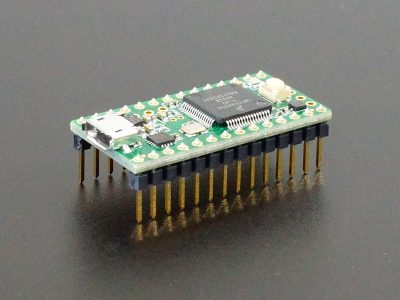 Teensy 3.2 - Assembled with Pins