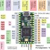 Teensy 3.2 Pinout Top
