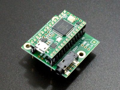 Teensy 3.x Audio Adapter - with Double Insulator Headers