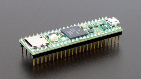 Teensy 4.1 - Assembled with Pins