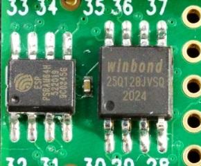 Teensy 4.1 PSRAM and Flash Chips