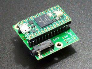 Teensy 4.x Audio Adapter - with Double Insulator Headers