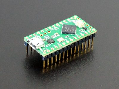 Teensy LC - Assembled with Pins