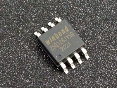 16MB Winbond 25Q128JVSQ FLASH SMD IC