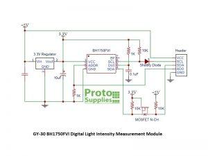 BH1750 Module Schematic