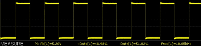 XY-LPWM Module 10kHz Scope Capture