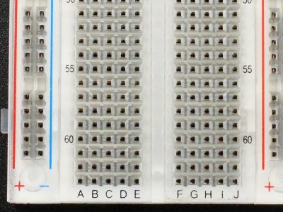 Breadboard Assembly 2390 Clear - Closeup (Pro Series)