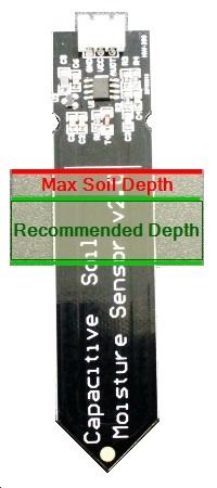 Capacitive Soil Moisture Sensor Module - Soil Level