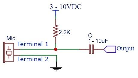 Condenser Mic - Schematic