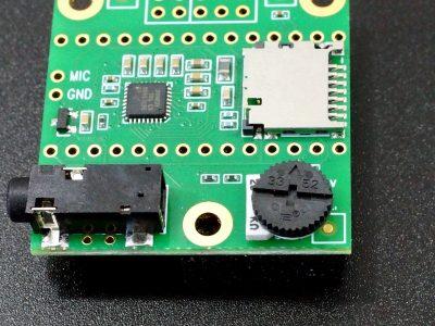 Potentiometer 25K Thumbwheel - On Audio Adapter